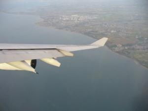 Approaching Manila