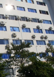 Many air conditioners for every unit