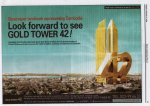 42 story Gold Tower for Phnom Penh