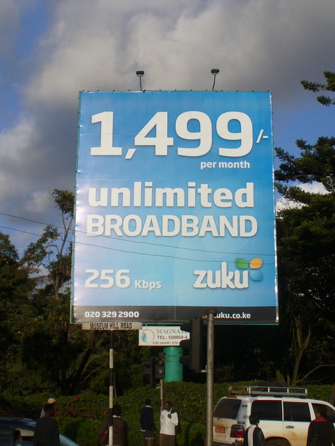 Kenyan Broadband Pricing